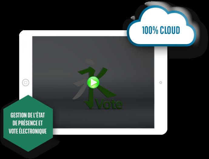 ipad_kvote-gestion-etat-de-presence-vote-electronique